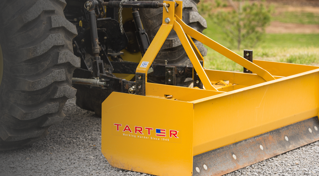 Tarter Farm & Ranch 3-Point Land Grader Box Blade